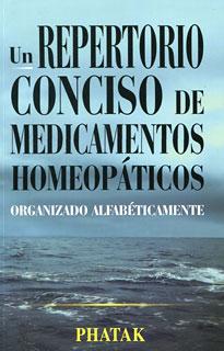 Un Repertorio conciso de Medicamentos Homeopáticos/S.R. Phatak