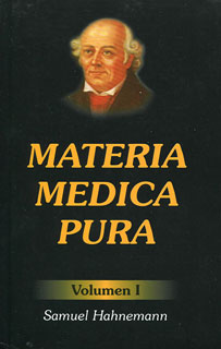 Materia Médica pura (Tomo I y II), Samuel Hahnemann