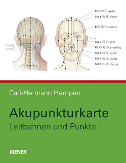 Akupunkturkarte/Carl Hermann Hempen
