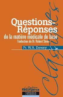 Questions-Réponses de la Matière médicale de base/Willis Alonzo Dewey