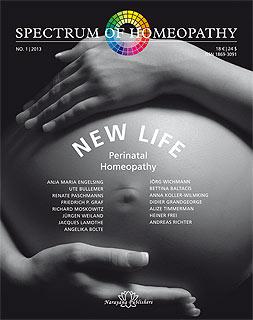 Spectrum of Homeopathy 2013-I, New Life, Narayana Verlag