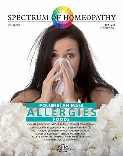 Spectrum of Homeopathy 2013-3, Allergies, Narayana Verlag