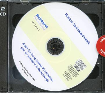 Auch für komplizierte Krankheiten gibt es einfache Heilungswege - 2 CD's, Rosina Sonnenschmidt