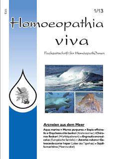 Homoeopathia viva 13-1 Arzneien aus dem Meer/Zeitschrift