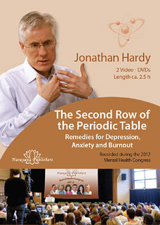 The Second Row of the Periodic Table - Remedies for Depression,Anxiety and Burnout - 2 DVDs, Jonathan Hardy