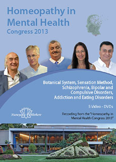 Complete Set - Homeopathy in Mental Health Congress 2013 - 5 DVDs, Jan Scholten / Michal Yakir / Jonathan Hardy / Farokh J. Master / Mahesh Gandhi