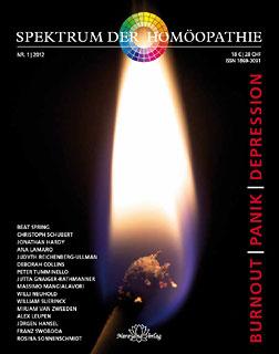 Spektrum der Homöopathie 2012-1, Burnout Panik Depression - E-Book/Narayana Verlag