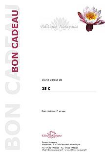 Bon cadeau/Narayana Verlag