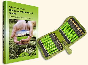 Homeopathy for Farm and Garden + Beginner's Set/Vaikunthanath Das Kaviraj