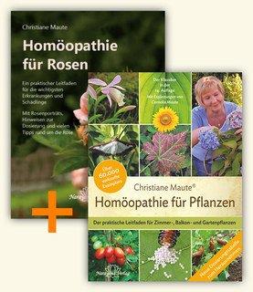 Set: Homöopathie für Pflanzen + Homöopathie für Rosen/Christiane Maute®
