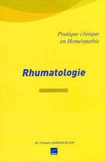 Pratique clinique en homéopathie - Rhumatologie/Firdaws Kanoun Bejar