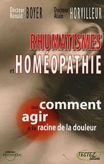 Rhumatismes et homéopathie/Alain Horvilleur / Roland Boyer