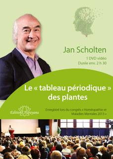 Congrès de psychiatrie 2013 - Le « tableau périodique » des plantes - 1 DVD, Jan Scholten