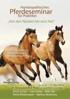Homöopathisches Pferdeseminar für Praktiker - 10 DVDs  - Sonderangebot/Erich Scherr / Ivan Urbas / Marc Bär / Petra Weiermayer / Markus Nowotny