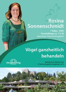Vögel ganzheitlich behandeln - 1 DVDs/Rosina Sonnenschmidt