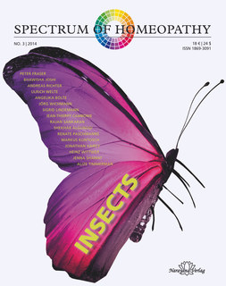 Spectrum of Homeopathy 2014-3, Insects/Narayana Verlag