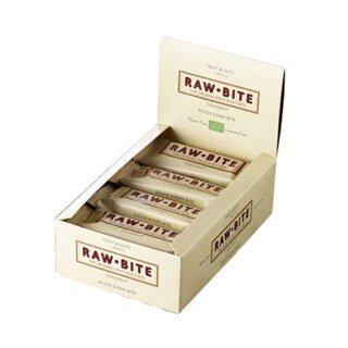 Barre crues bio Raw Bite - Noix de coco - 50 g - 12 barres/