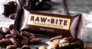 Raw Bite Rohkost Riegel Bio - Kakao - 50 g/