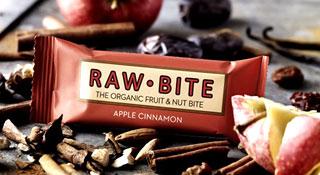 Raw Bite Rohkost Riegel Bio - Apple & Cinnamon - 50 g