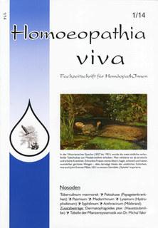 Homoeopathia viva 14-1 Nosoden/Zeitschrift