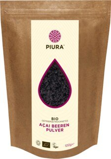 Acai Berry Powder Organic Pura - 100 g/