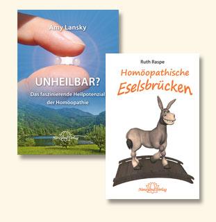 Set: Homöopathische Eselsbrücken + UNHEILBAR?/Ruth Raspe / Amy L. Lansky