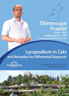 Lycopodium in Cats and Remedies for Differential Diagnosis - 1 DVD/Dominique Fraefel
