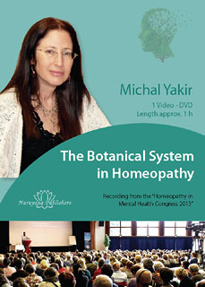 The Botanical System in Homeopathy - 1 DVD/Michal Yakir