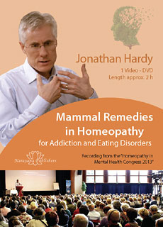 Mammal Remedies in Homeopathy - 1 DVD, Jonathan Hardy