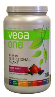 Vega One all-in-one Nutritional Shake - Mixed Berry, Dose 850 g/
