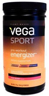 Vega Sport Pre-Workout Energizer - Acai Berry, Dose - 540 g/