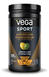 Vega Sport Pre-Workout Energizer - Lemon Lime, Dose - 540 g/