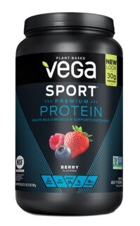 Vega Sport Performance Protein  mixe de Baies, boîte 801 g