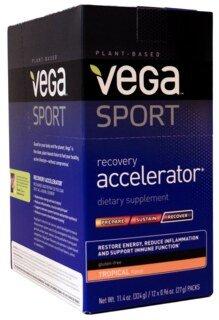 Vega Sport Recovery Accelerator - Tropical, Beutel 12 x 27 g/