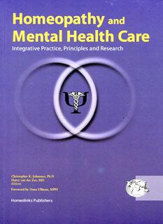 Homeopathy and Mental Health Care/Harry van der Zee