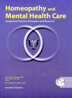 Homeopathy and Mental Health Care - Special offer/Harry van der Zee