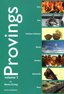 Provings volume 3/Nuala Eising