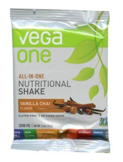 Vega One all-in-one Nutritional Shake - Vanilla Chai, Einzelbeutel - 44 g
