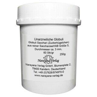 Sucrose pillules, unmedicated, size No.5 - 250 g/Narayana Verlag