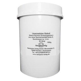 Granules neutres Nr 5 - Ø 3 mm  1 kg/Narayana Verlag