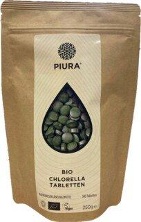 Chlorella bio en comprimés, Piura - 250 g/