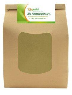 Hanfprotein 50 % Bio - 1 kg/