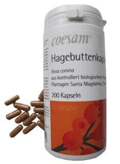 Coesam Hagebuttenkapseln Bio - 200 Kapseln/