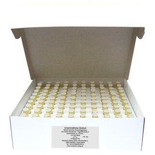Gläschen klar mit 1,3 g unarzneilichen Globuli Nr.3 - 100 Stk., Narayana Verlag