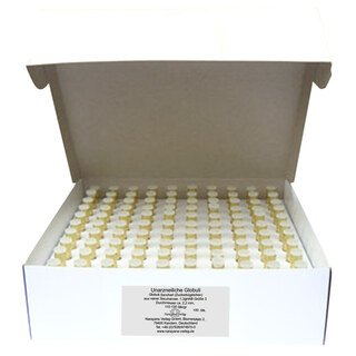 Glass vials with 1.3 g unmedicated pillules - 1000 pieces/Narayana Verlag
