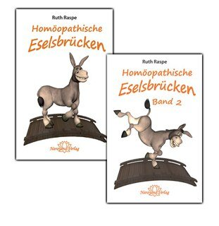Set: Homöopathische Eselsbrücken Band 1+2, Ruth Raspe