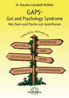 GAPS - Gut and Psychology Syndrome, Natasha Campbell-McBride
