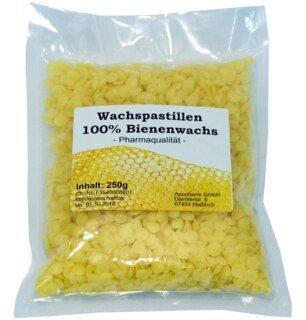 Wachspastillen 100 % Bienenwachs -  250 g/