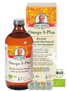 Udo's Choice Omega 3 Plus Öl Bio - 500 ml/