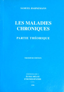 Les maladies chroniques/Samuel Hahnemann